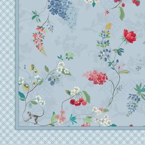 Pip Studio Tagesdecke »Hummingbirds«, 220x265 cm, blau