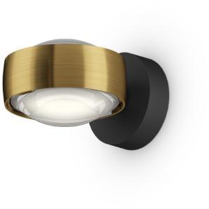 Occhio Sento D LED verticale up Wandleuchte, 2700 K, Bronze / schwarz matt