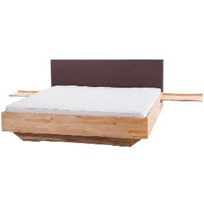 Holzbett braun Lattenrost 180 x 200 cm ARRAS