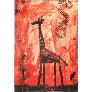 Teppich Roya in rot