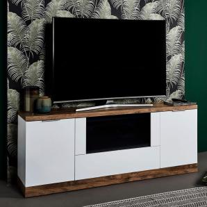 Jahnke Sideboard »Havanna TV 180«, weiß, pflegeleichte Oberfläche