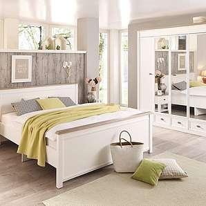 Home affaire, Schlafzimmer-Programm »Chateau« (4-tlg.), mit 5-türigem Kleiderschrank