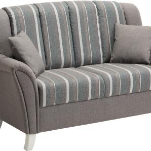Home affaire 2-oder 3-Sitzer Küchensofa, grau, 2-Sitzer, T: 49cm »Melrose«, FSC®-zertifiziert