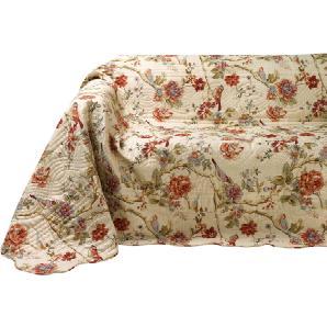 Damen Sofa- und Sesselüberwurf, bunt, Gr. ca. 250/370 cm,  home, 100% Baumwolle