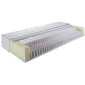 7-Zonen Boxspringmatratze Micro Taschenfederkernmatrate (140x200cm)