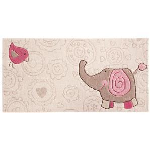 Kinderteppich Happy Zoo Elephant - 90 x 160 cm, Sigikid