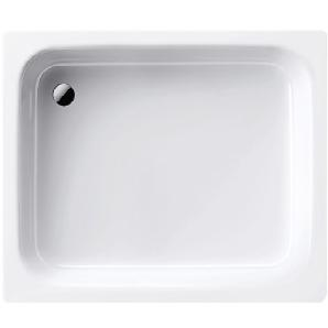 Kaldewei Stahl-Duschwanne Sanidusch 80 cm x 75 cm x 14 cm Weiß