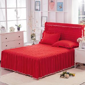 tagesdecken in rot online vergleichen m bel 24. Black Bedroom Furniture Sets. Home Design Ideas