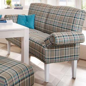 Home affaire Küchensofa, braun, B/T: 181x50cm »Paisley«, FSC®-zertifiziert