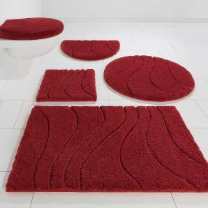 Badematte »Lola« Home affaire Collection, höhe 22 mm, rutschhemmend beschichtet, fußbodenheizungsgeeignet