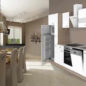 Respekta Küchenzeile mit E-Geräten »Hamburg«, Breite 310 cm