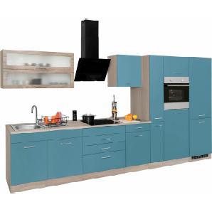 Küchenzeile »Utah« blau, ohne Aufbauservice, Held Möbel