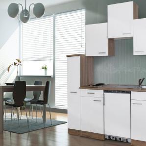 Respekta Miniküche mit E-Geräten, Breite 180 cm