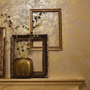 Tapeten aus Gold - Preise & Qualität vergleichen | Möbel 24