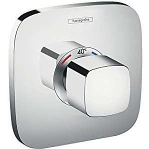 hansgrohe Ecostat E Unterputz Highflow Thermostat, 1 Verbraucher, chrom