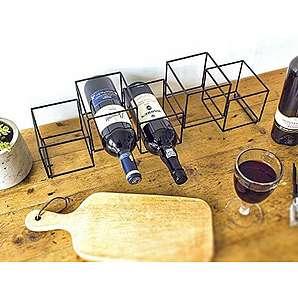 weinschr nke weinregale aus metall online vergleichen. Black Bedroom Furniture Sets. Home Design Ideas