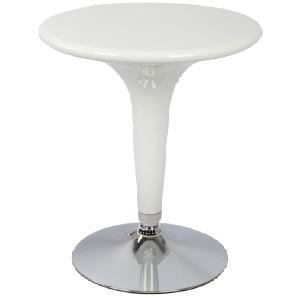 Stehtisch Dano 03, Farbe: Weiß - Durchmesser: 60 cm