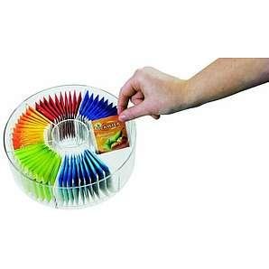 Mepal Vorratsdose Teebeutel Rund, Plastik, Acryl, 20 x 7.9 x cm, 1 Einheiten