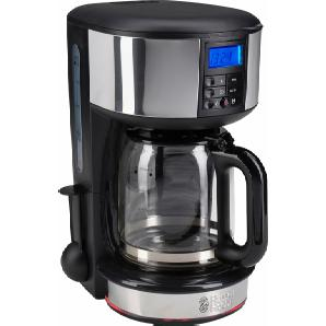 Filterkaffeemaschine Legacy 20681-56 125l Kaffeekanne Papierfilter 1x4, schwarz, RUSSELL HOBBS