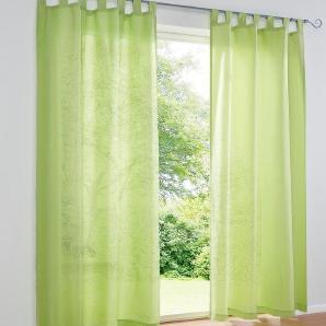 Dekoschal 2er-Set, grün, Gr. ca. 245/140 cm,  home