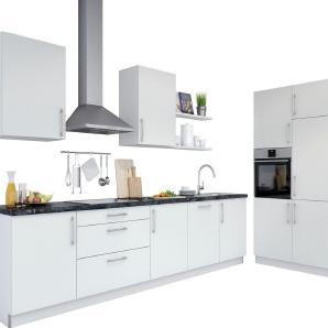 set one by Musterring Küchenzeile »Navaro« ohne E-Geräte, Breite 330 cm, Lieferzeit 2 Wochen
