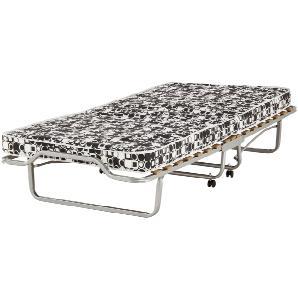 Gästebett 90x200 - schwarz/weiß - Metall Klapp ¦ weiß ¦ Maße (cm): B: 90 H: 41 T: 210 Betten  Gästebetten » Höffner