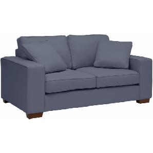 Max Winzer 2-Sitzer Sofa mit dekorativer Keder-Verzierung »Flip« blau, FSC®-zertifiziert