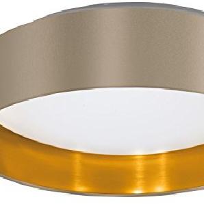 Moderne LED Deckenleuchte (1380 Lumen, Ø40,5cm, Modern Minimalistisch, Zylinder, 1380 Lumen) Stofflampe Sparlampe LED-Leuchte Lampe Kugelleuchte Innenleuchte
