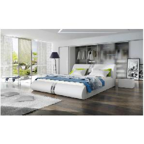 JUSTyou CALLISTO Polsterbett Doppelbett Ehebett Gästebett 155x239x83 Weiß