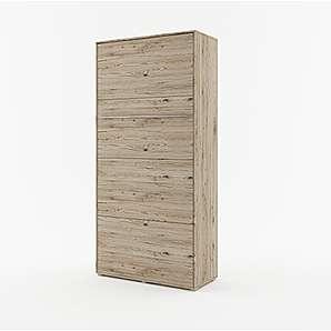 Schrankbett CONCEPT PRO Wandklappbett - Vertikal (90x200 cm, sanremo)