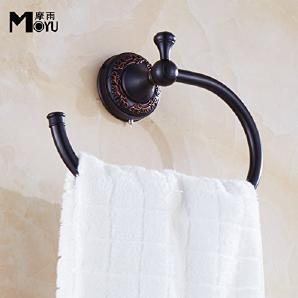 TougMoo Antike Handtuchhalter Alle Kupfer Schwarz Antiken Handtuchhalter Bad Handtuch, Handtuch.