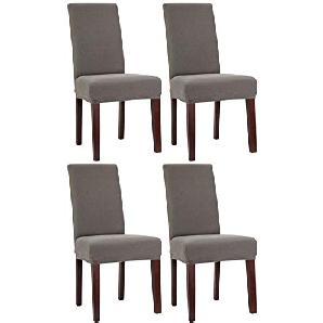 stuhlhussen in grau preise qualit t vergleichen m bel 24. Black Bedroom Furniture Sets. Home Design Ideas