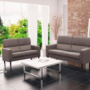 Home affaire 2,5-Sitzer , skandinavisches Design »Solemio« braun, FSC®-zertifiziert